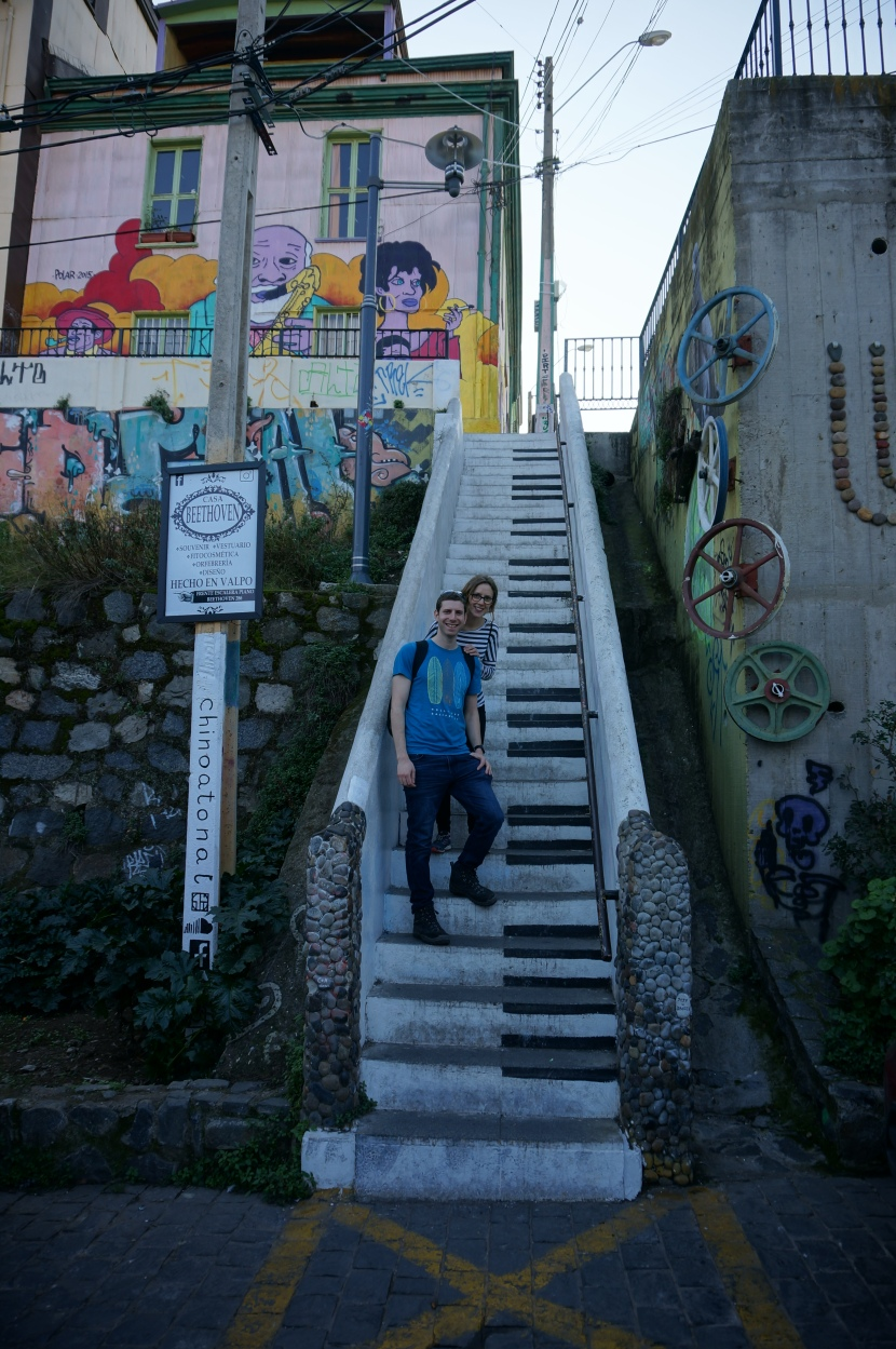 4. Santiago & Valparaiso: A tale of two cities and a lot of food!